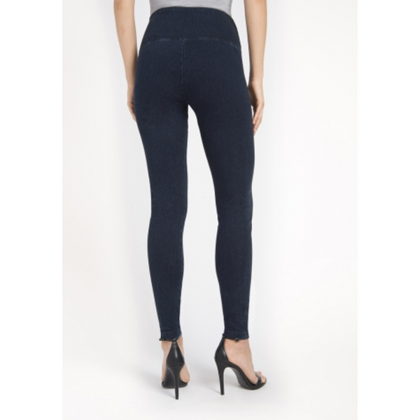 Denim Leggings in Indigo Pants, Lysse- Ooh La La Free Shipping
