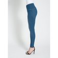 Denim Leggings in Mid Wash Pants, Lysse- Ooh La La Free Shipping