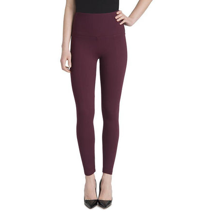 Ponte Center Seam Legging in Currant Pants, Lysse- Ooh La La Free Shipping