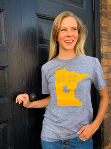 Duck Duck Gray Duck Crew Neck Minnesota Tee