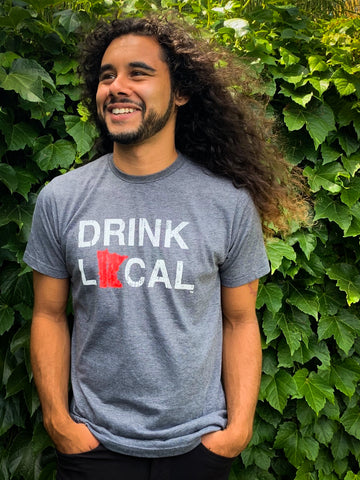Minnesota Drink Local T Shirt Unisex
