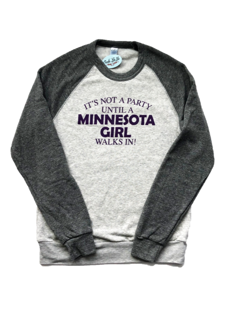 Minnesota Girl Crew Neck Sweatshirt