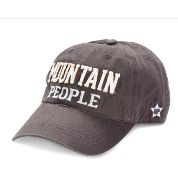 Mountain People Hat Hats, OohLaLaBling- Ooh La La Free Shipping