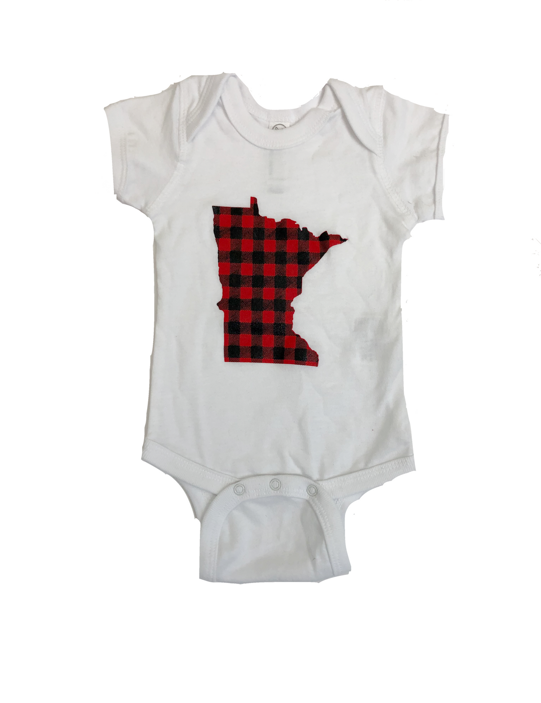 Plaid Minnesota Onesie