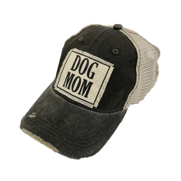 dog mom black baseball hat womens gift ooh la la excelsior mn