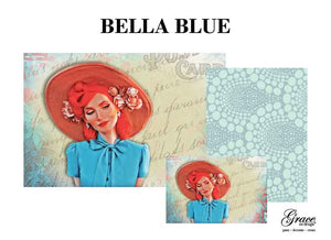 Bella Blue Decoupage Pack