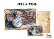 PREORDER - WILL SHIP LATE APRIL Study Time Decoupage Pack