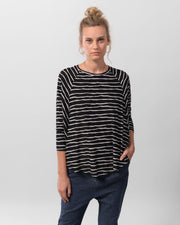 Wave Striped Top ~ 0W213WS - Rootchi