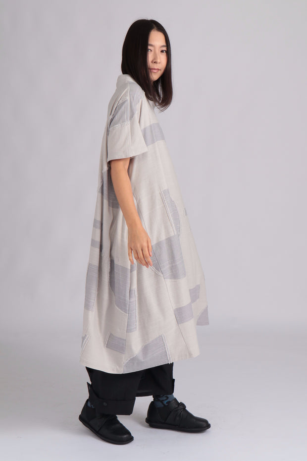 Suki Dress ~ 10122107-010 Greige - Rootchi