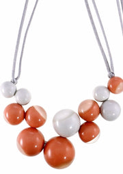 BOLAS Necklace ~ Peach - Rootchi