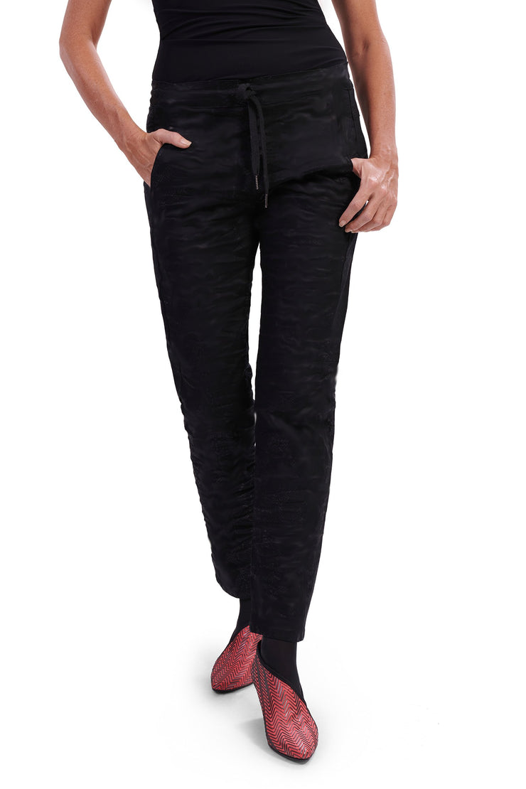 Harlow Stretch Jeans ~ AP333B Black - Rootchi