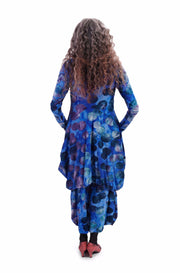 Dream Tunic Dress ~ AD613S Sapphire - Rootchi