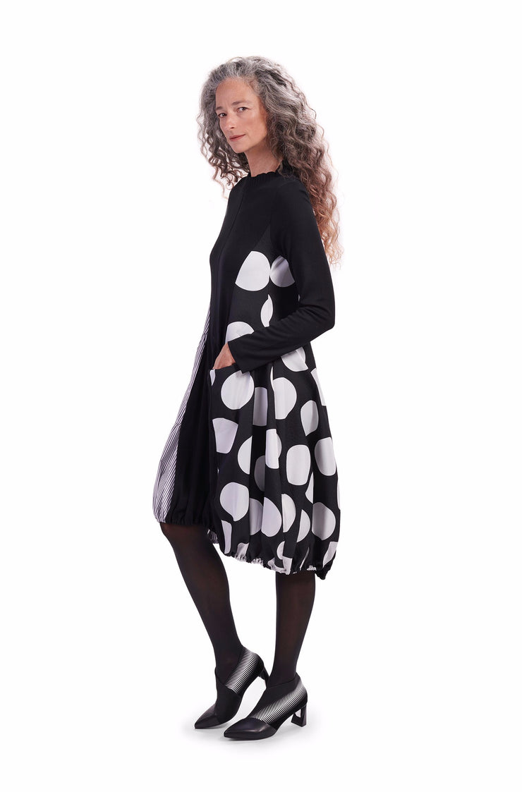 Dot Wonderful Dress ~ AD604B - Rootchi