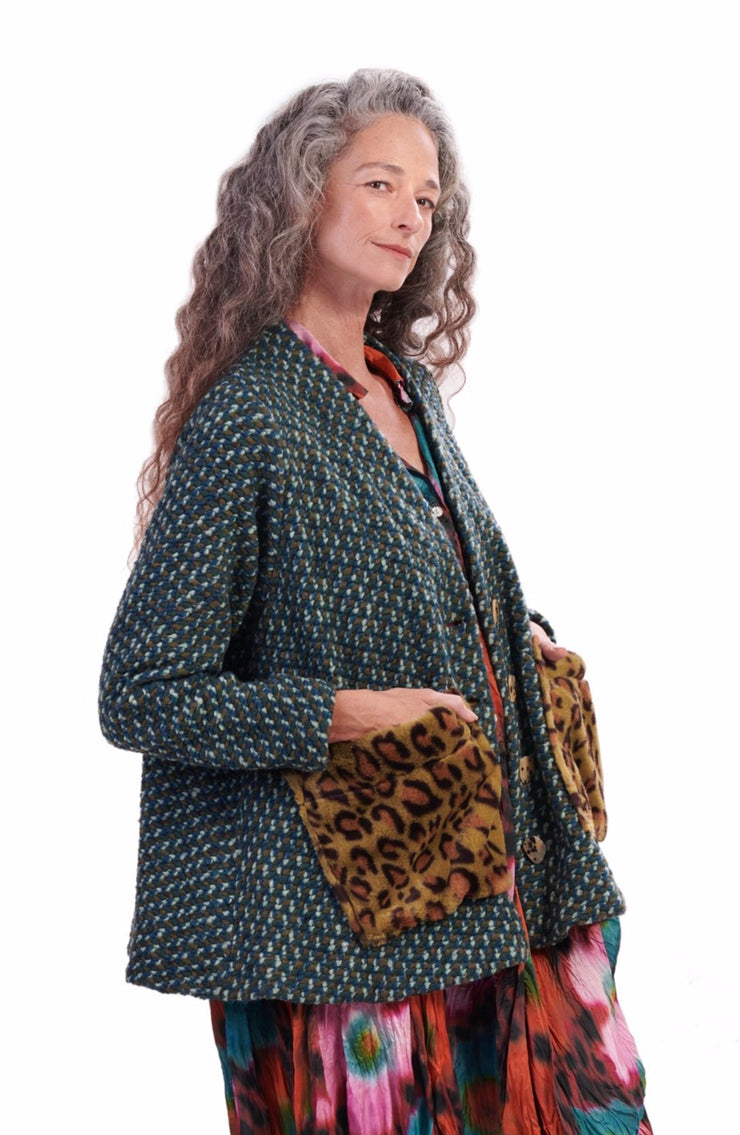 Beau Tweed Jacket ~ AJ515T - Rootchi