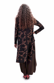 Tori High-Low Tunic Top ~ AT217M - Rootchi