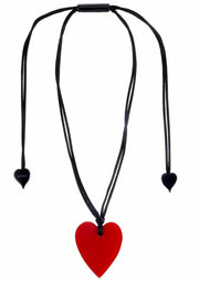 "2.5"" HEART Pendant ~ Red - Rootchi"