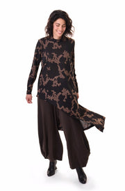 High-Low Tunic Top ~ AT217M - Rootchi