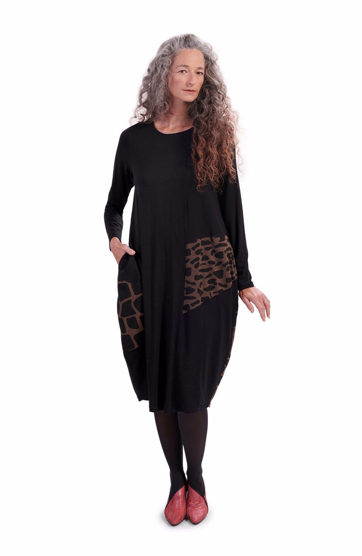 Hari Geo Dress ~ AD618S - Rootchi