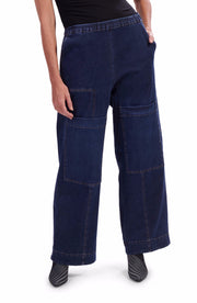 Big Pocket Stretch Jeans ~ AP301D - Rootchi
