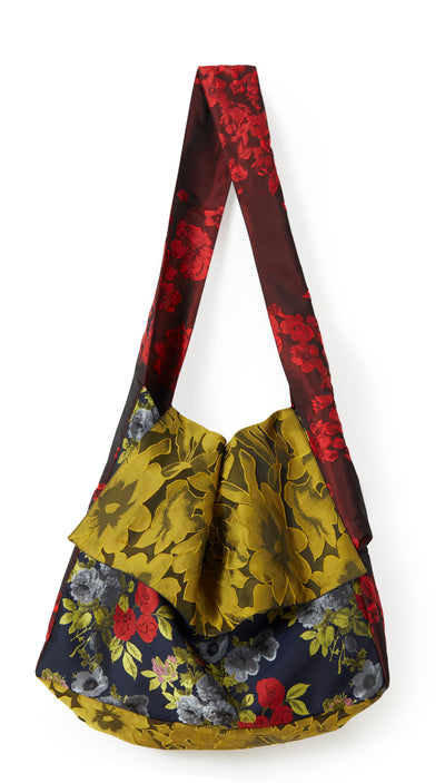Mixed Floral Messenger Bag ~ AB100M