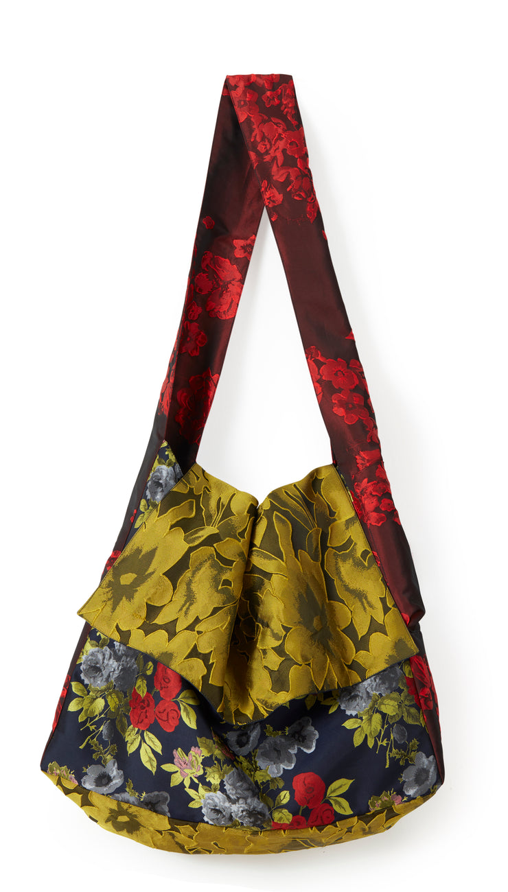 Mixed Floral Messenger Bag ~ AB100M - Rootchi