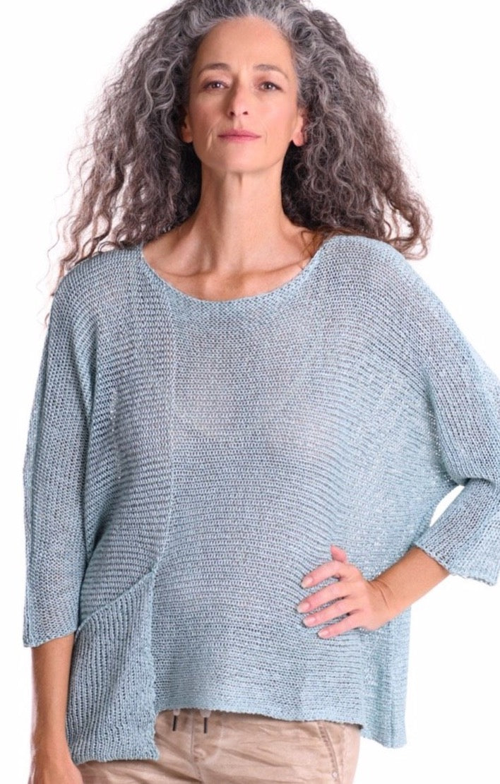 Prana Pocket Sweater ~ SS27S Sky - Rootchi