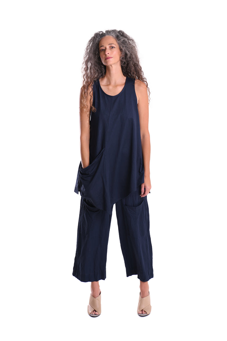 The Everything Tunic ~ ST231N Navy - Rootchi