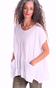 The Shakti Top ~ ST233W White - Rootchi