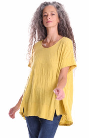 The Amma Tee ~ ST235Y Yellow - Rootchi