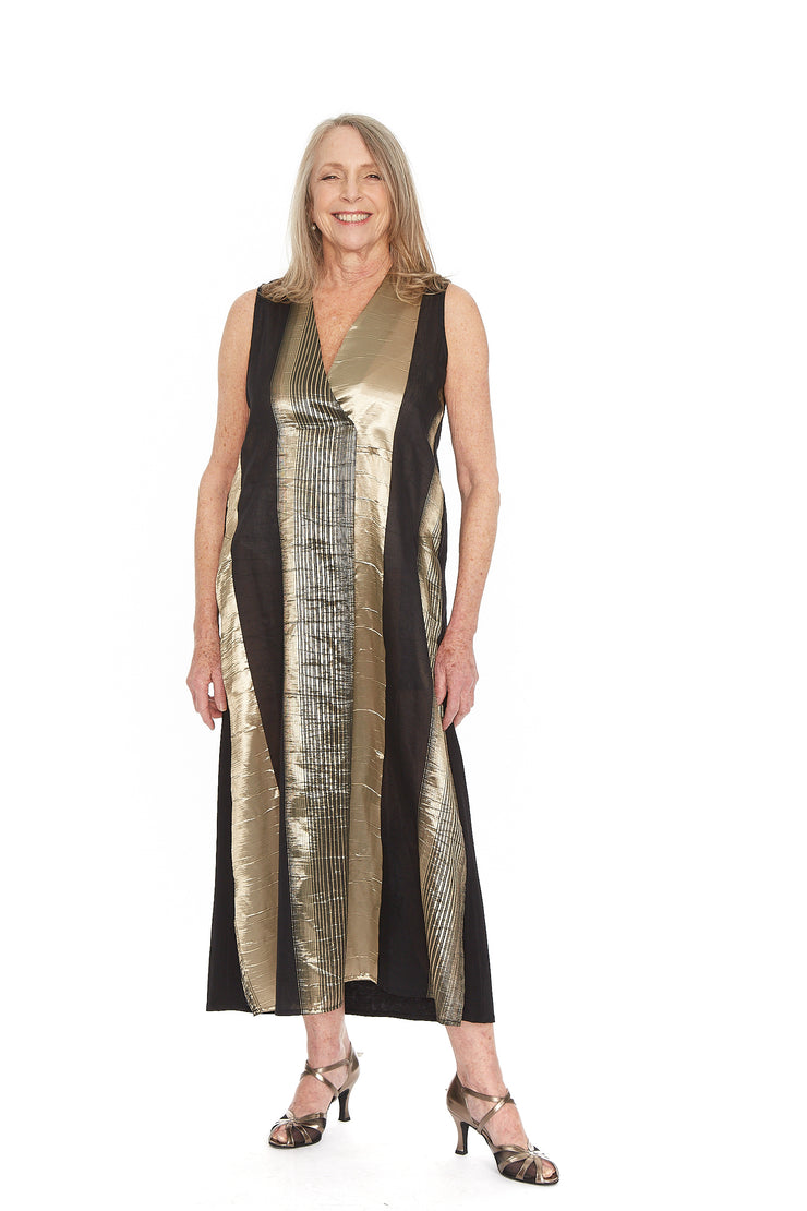 Shimmer Maxi Dress ~ ED401G - Rootchi