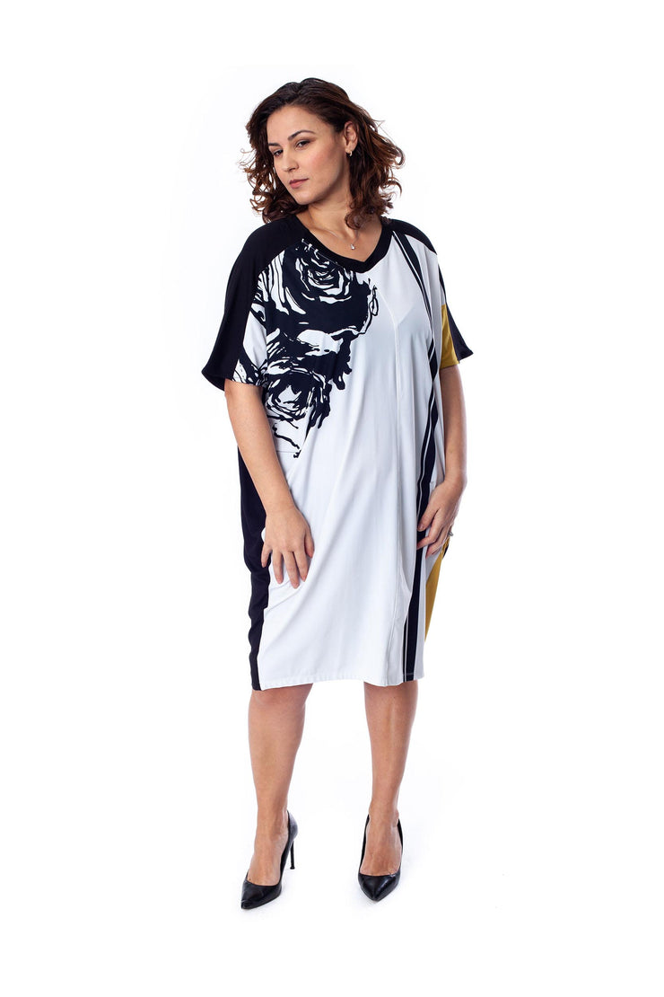 TEKBIKA Jaia Shift Dress ~ TD101L - Rootchi