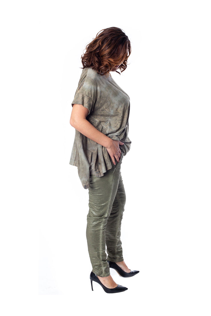 Shimmer Pants ~ SP314M Moss - Rootchi