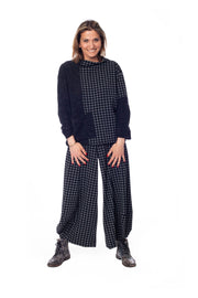 Plaid Punto Pants ~ AP206N - Rootchi