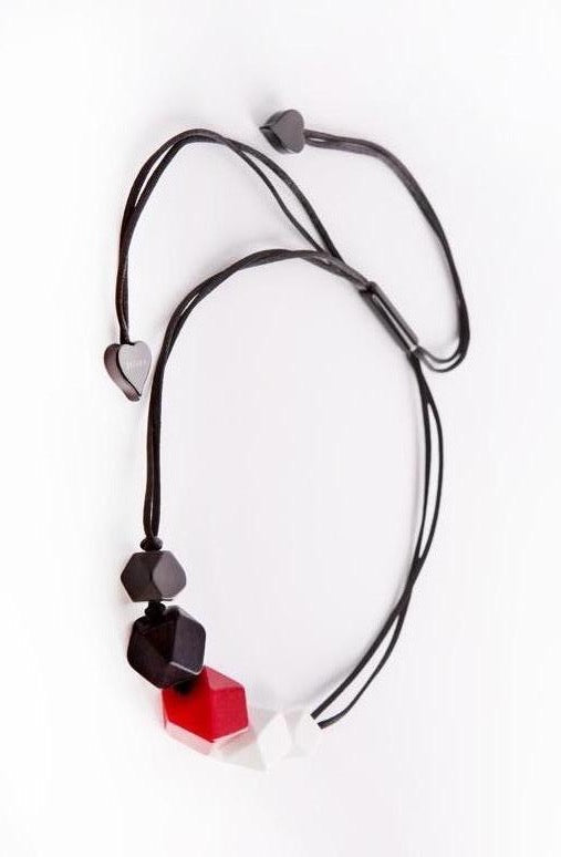 KOKO Necklace ~ Red Mix - Rootchi