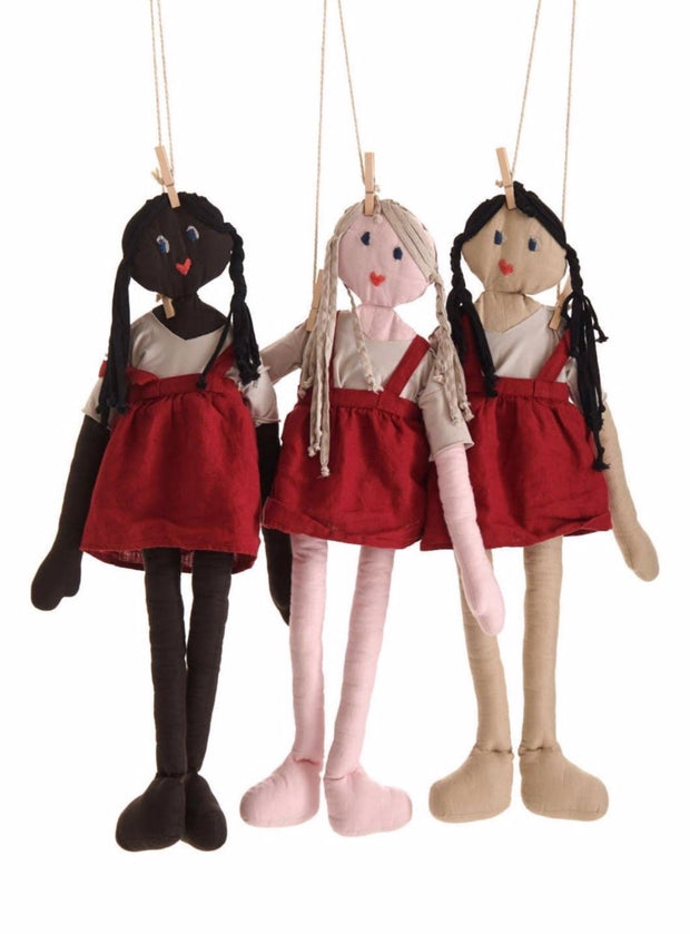 Biba Collectible Rag Doll - Rootchi