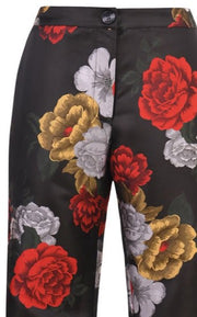 Rose Satin Pants ~ EP129R - Rootchi