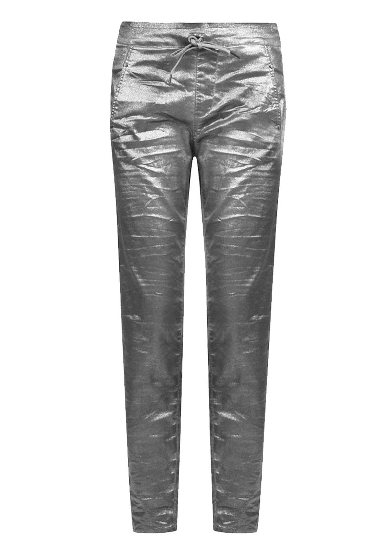 Shimmer Pants ~ EP417S Silver - Rootchi