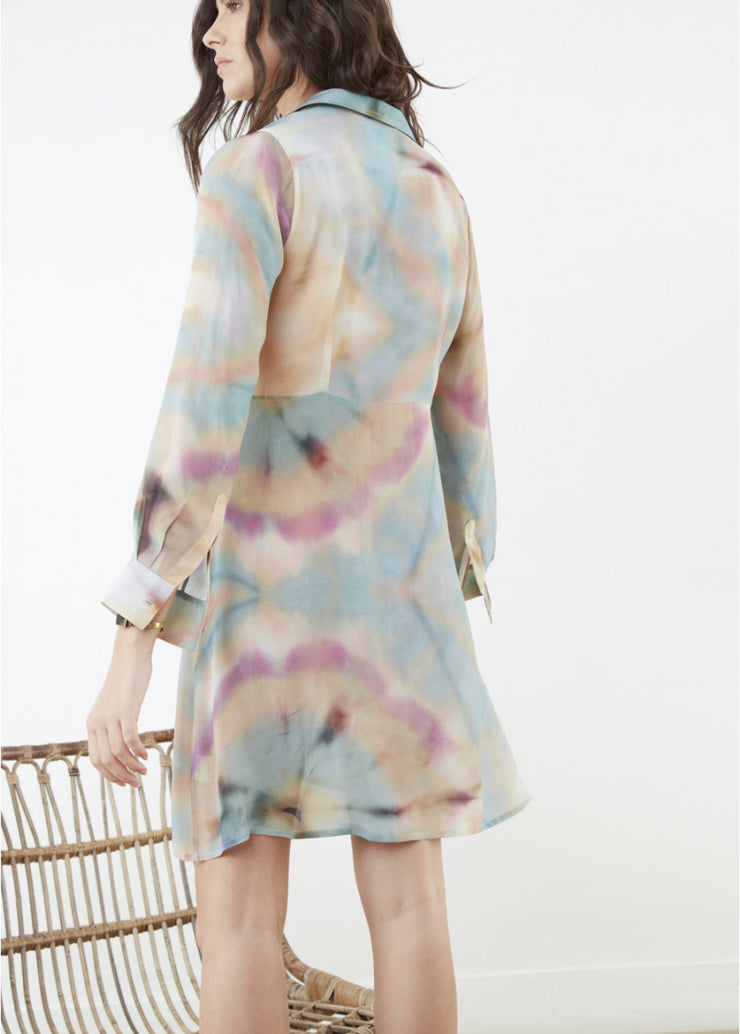 Canyon Chiffon Shirtdress ~ RE3398 - Rootchi