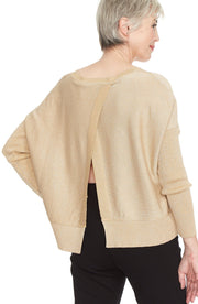 Pima Open Back Sweater ~ 751KR - Rootchi