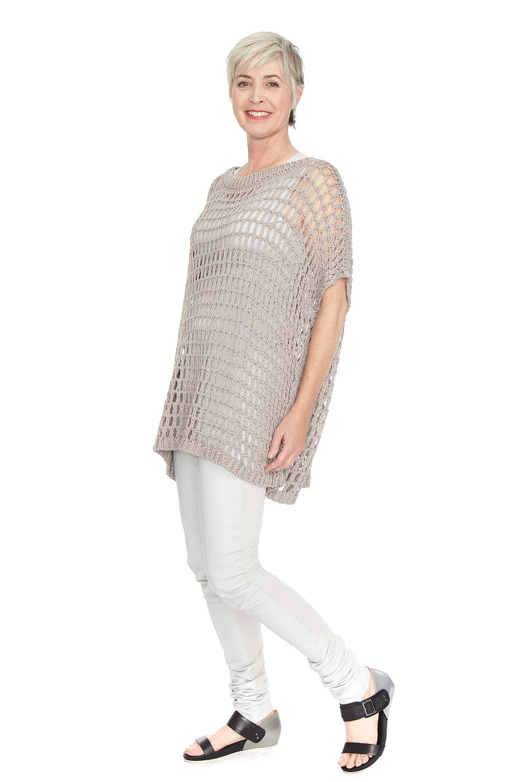 Fishnet Sweater ~ 593K Sand - Rootchi