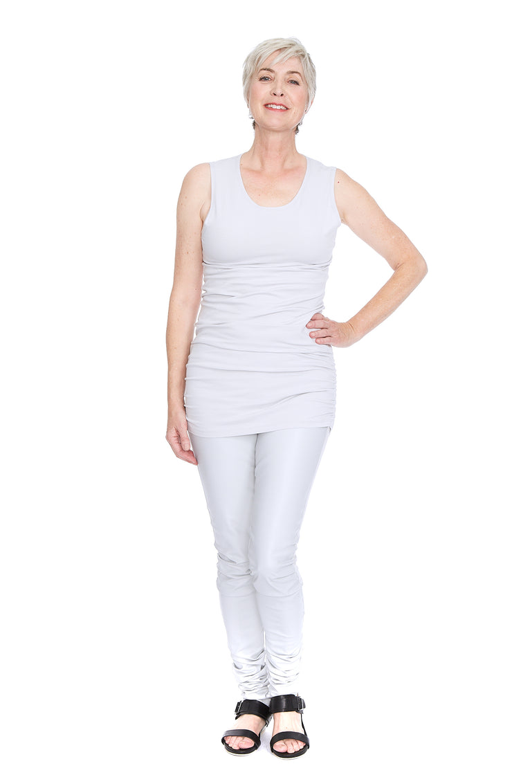Ruched Tank Top ~ 9802LY - Rootchi