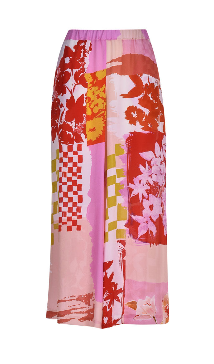 Gallery Palazzo Pants ~ SP304P Pink - Rootchi