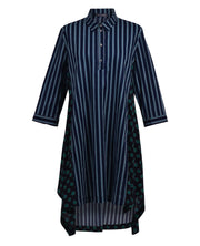 Stripe & Dot Tunic ~ ST213N - Rootchi
