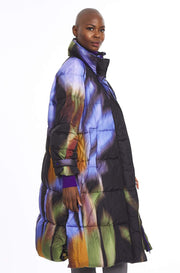 Watercolor Down Coat ~ 5J0702140-599 - Rootchi