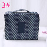 Portable color travel storage bag wash bag Travel travel waterproof square bag aircraft bag cosmetic bag