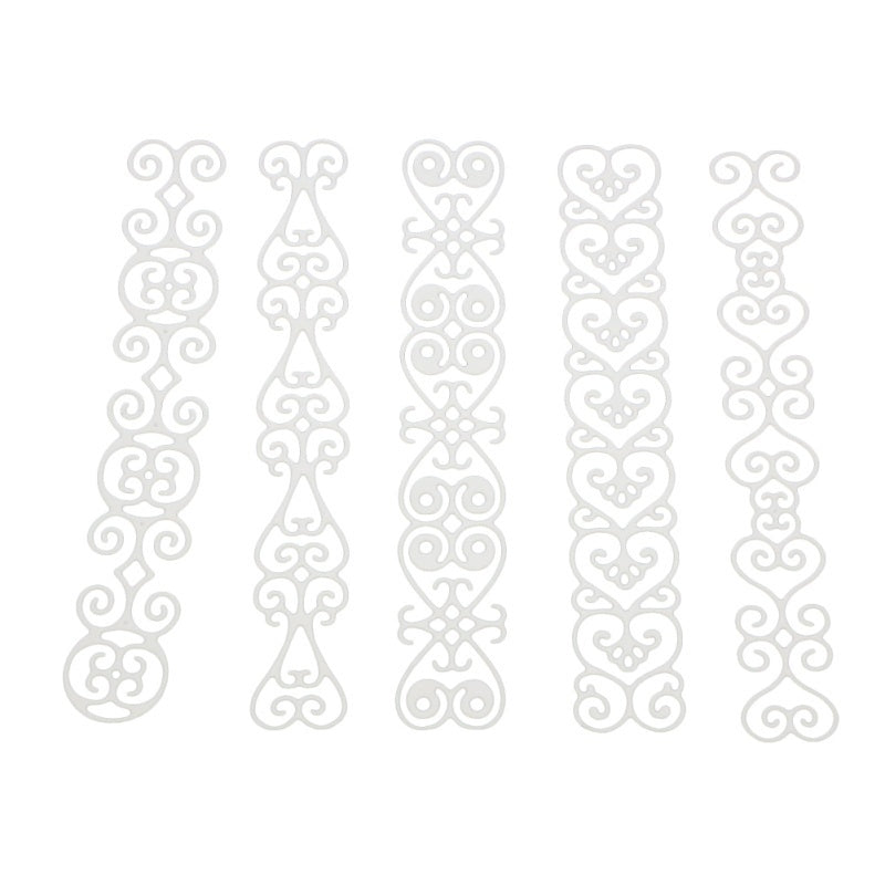 Four Laces Cutting Dies Stencil Metal Mould Template for DIY Scrapbook Album Paper Card Making