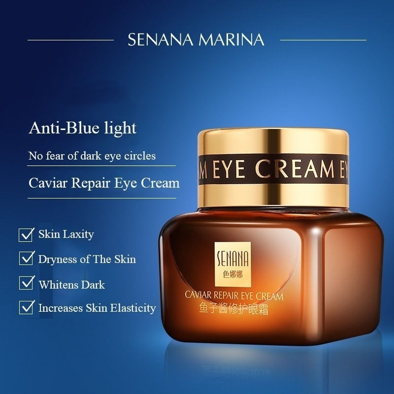 20g Caviar Repairing Eye Cream Moisturizes Removes Dark Circles Lifts and Tightens Eyes