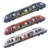 Alloy High Speed Rail Track Train Model Alloy Car Toy Subway Skiing Simulation Car Model Boys Toys