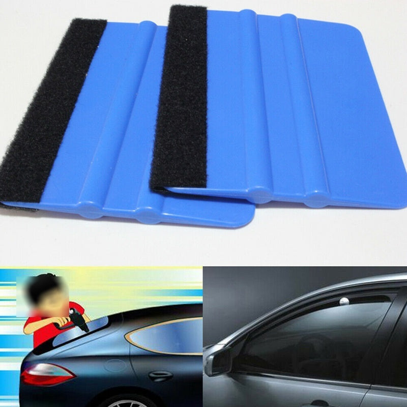 Universal Safety Vinyl Cutter & Edge Squeegee Car Wrapping Tools Accessories