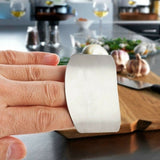Stainless Steel Finger Hand Protector Guard Knife Slice Shield Kitchen Tools